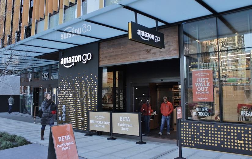 Cashless Payments Amazon Go